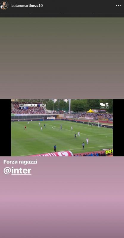 Lautaro Martinez Lugano-Inter