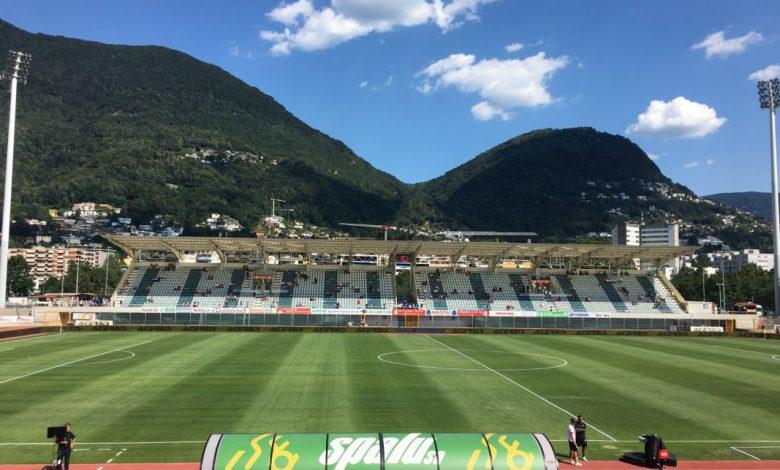 Lugano-Inter allo Stadio Comunale di Cornaredo