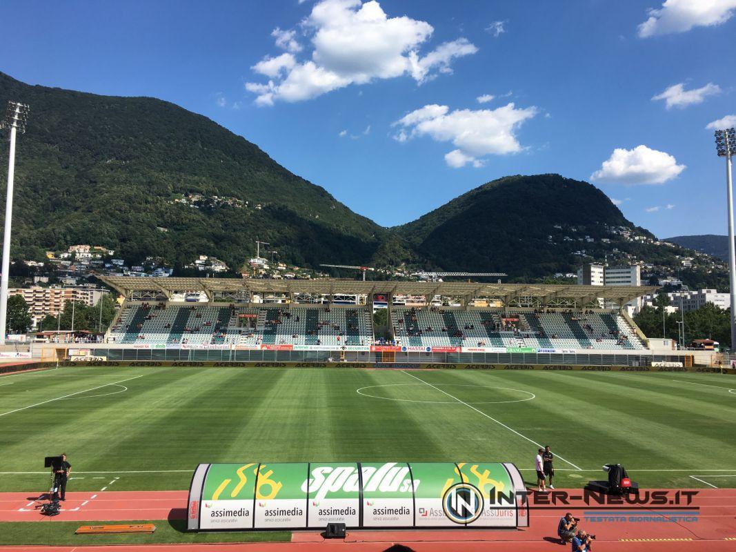 Lugano-Inter allo Stadio Comunale di Cornaredo (Lugano)