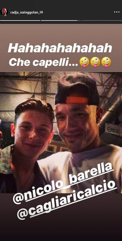 Nainggolan Barella Instagram