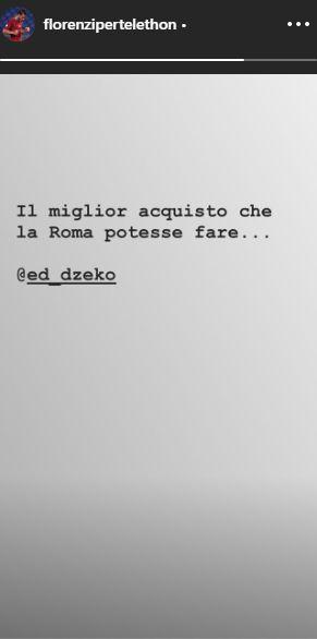 Florenzi su Dzeko
