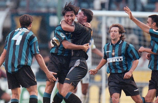Alvaro Recoba Inter-Brescia