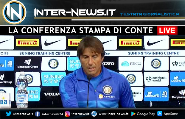 Antonio Conte LIVE in conferenza stampa