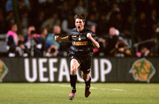 Javier Zanetti Lazio-Inter