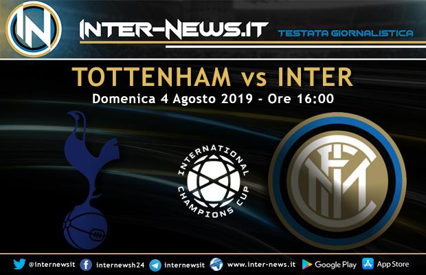 Tottenham-Inter-ICC