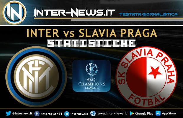 Inter-Slavia-Praga-Statistiche
