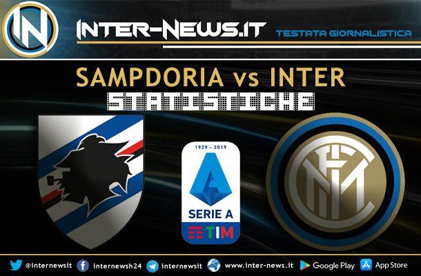 Sampdoria-Inter-Statistiche