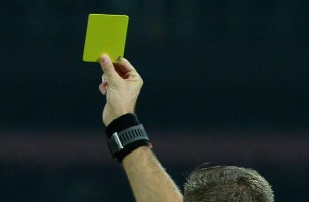 Arbitro ammonizione