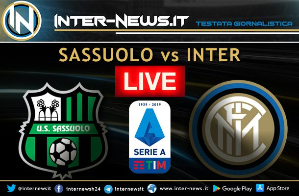Sassuolo-Inter-LIve