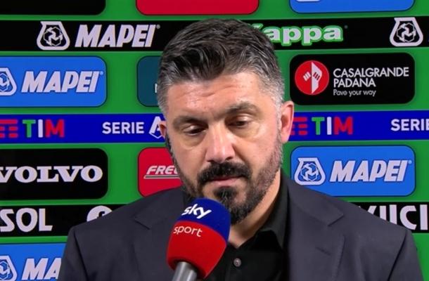 Gennaro Gattuso Sassuolo-Napoli