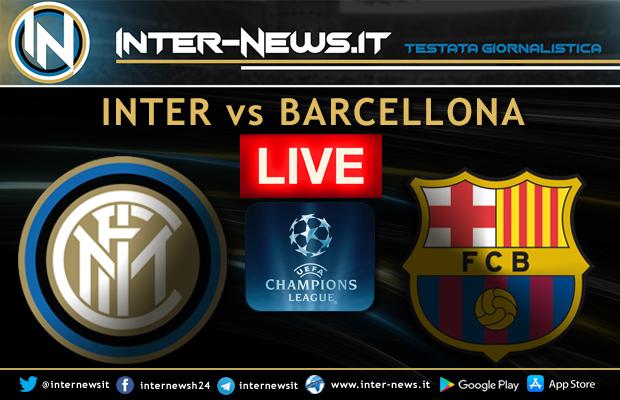 Inter-Barcellona-Live