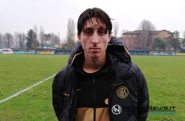 Samuele Mulattieri Inter-Frosinone