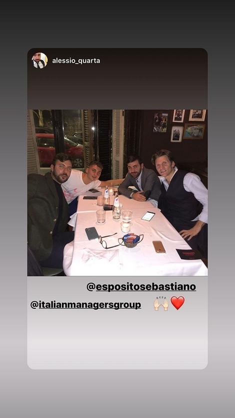 Esposito Instagram agenti