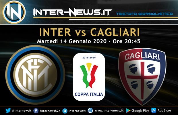 Inter-Cagliari Coppa Italia