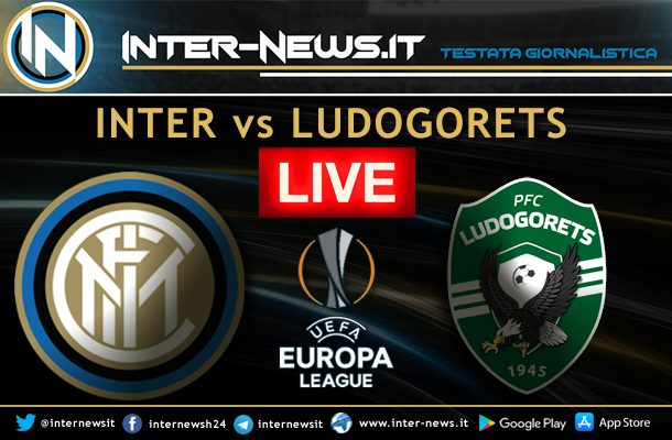 Inter-Ludogorets-Live