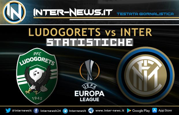 Ludogorets-Inter-Statistiche
