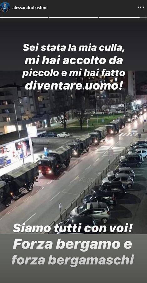 Bastoni Instagram Bergamo