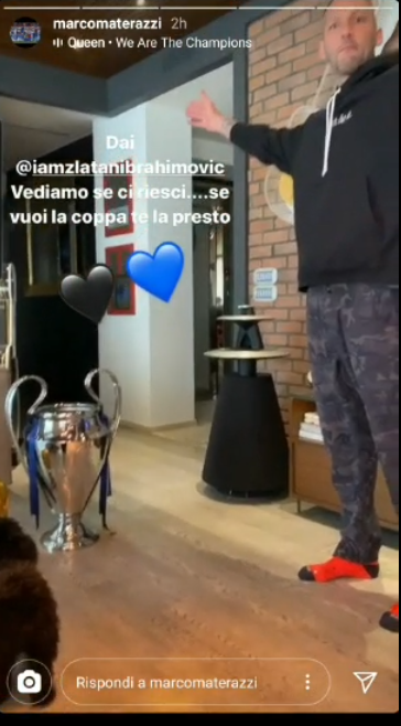 Materazzi Ibrahimovic