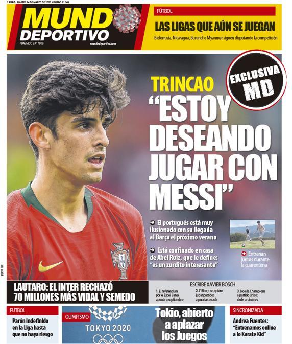 Mundo Deportivo 24 marzo
