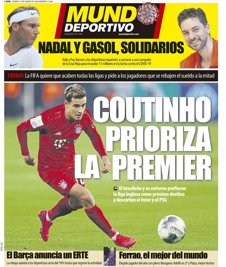 Mundo Deportivo 27 marzo