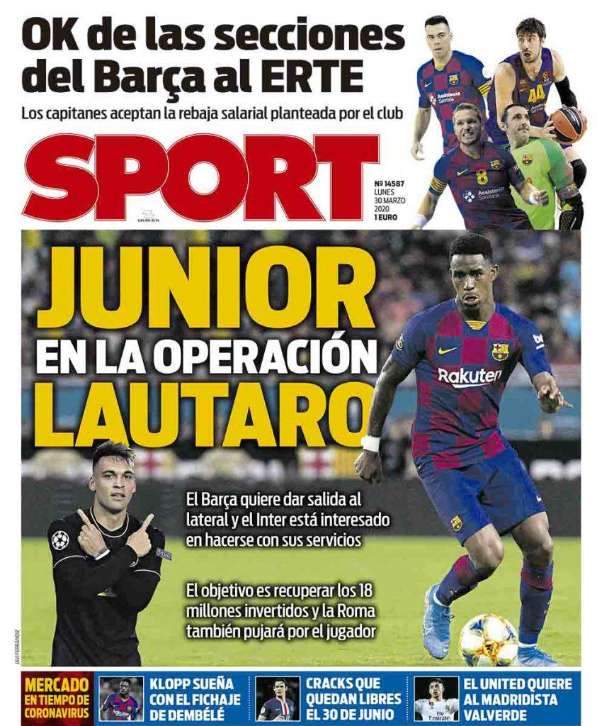 Sport 30 marzo