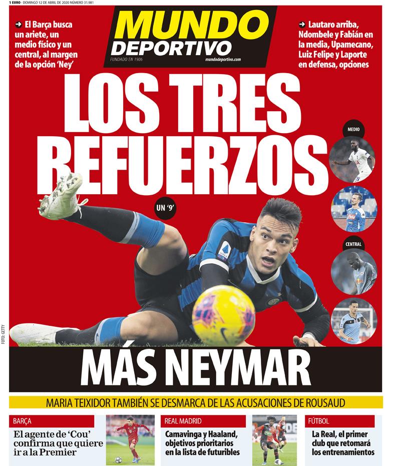 Mundo Deportivo 12 aprile