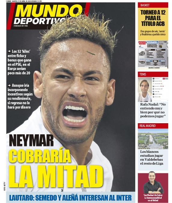 Mundo Deportivo 21 aprile