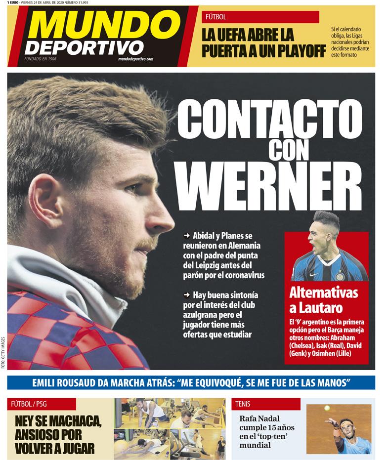 Mundo Deportivo 24 aprile
