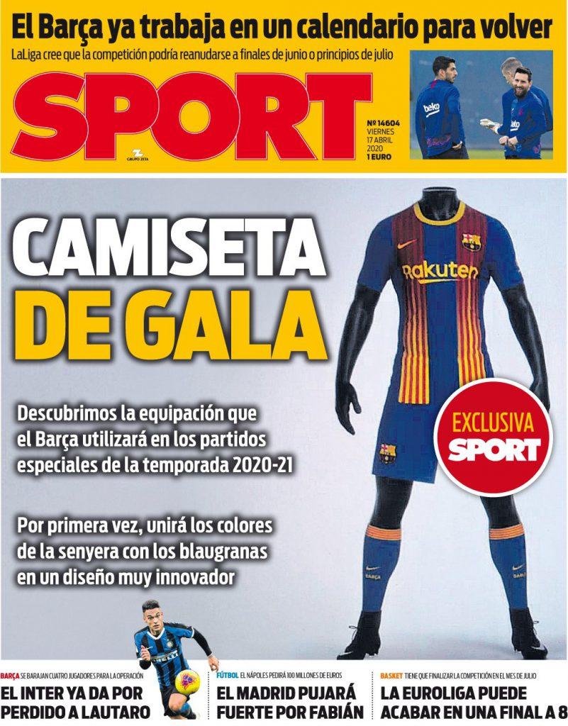 Sport 17 aprile