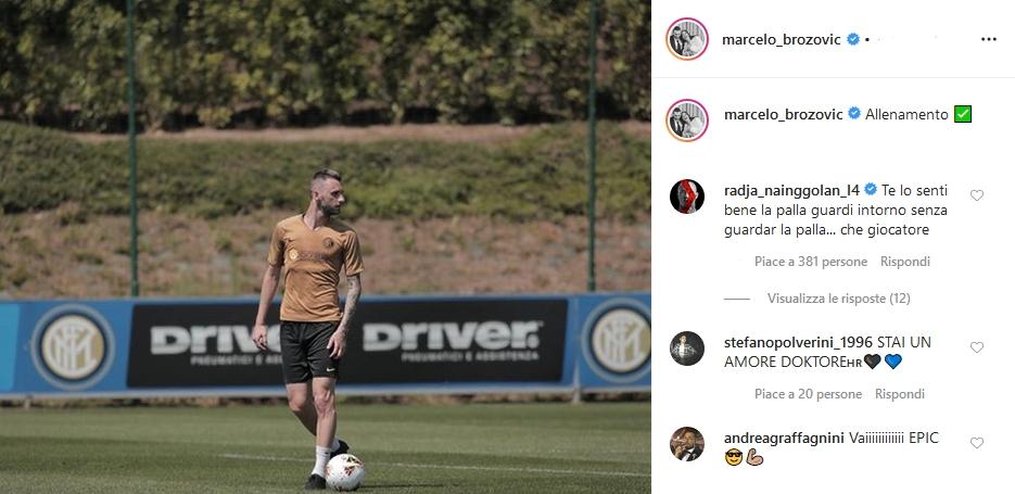 Brozovic Nainggolan Instagram