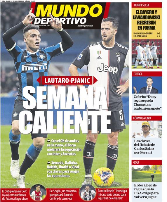 Mundo Deportivo 18 maggio