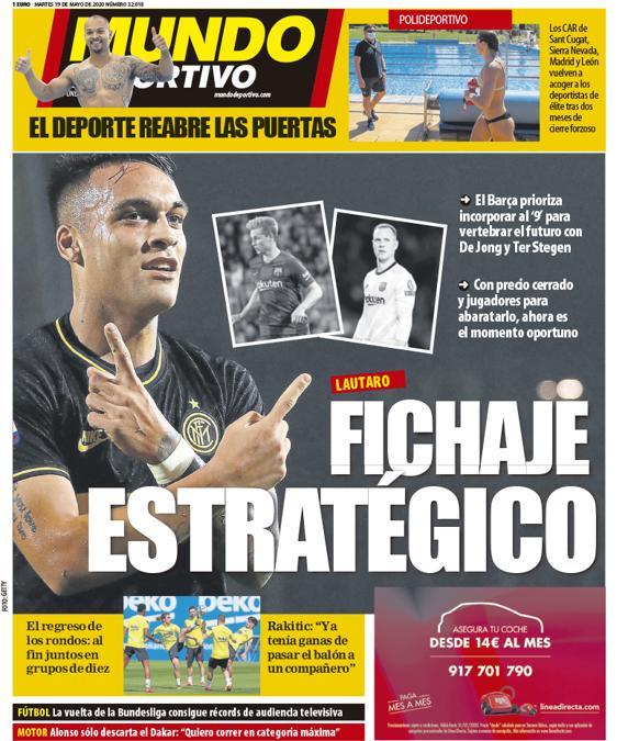 Mundo Deportivo 19 maggio