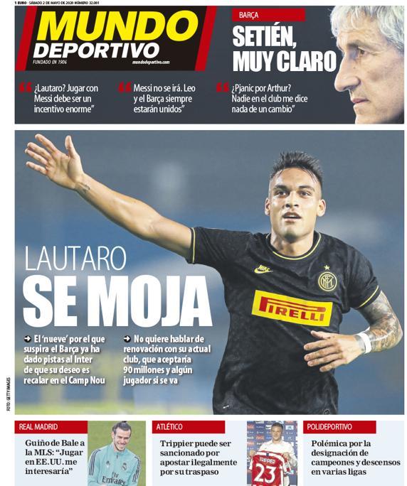 Mundo Deportivo 2 maggio