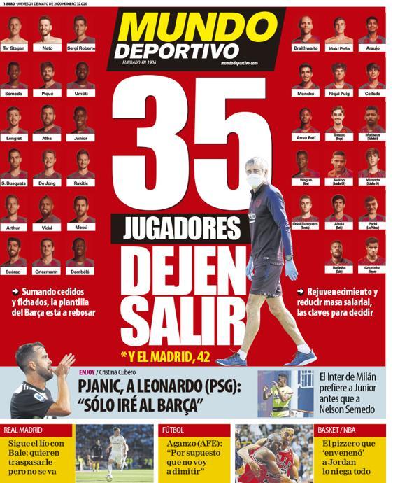 Mundo Deportivo 21 maggio