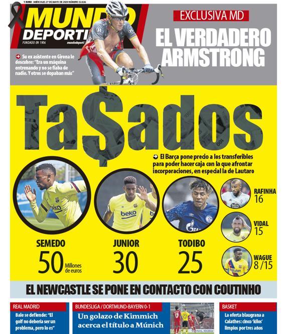 Mundo Deportivo 27 maggio