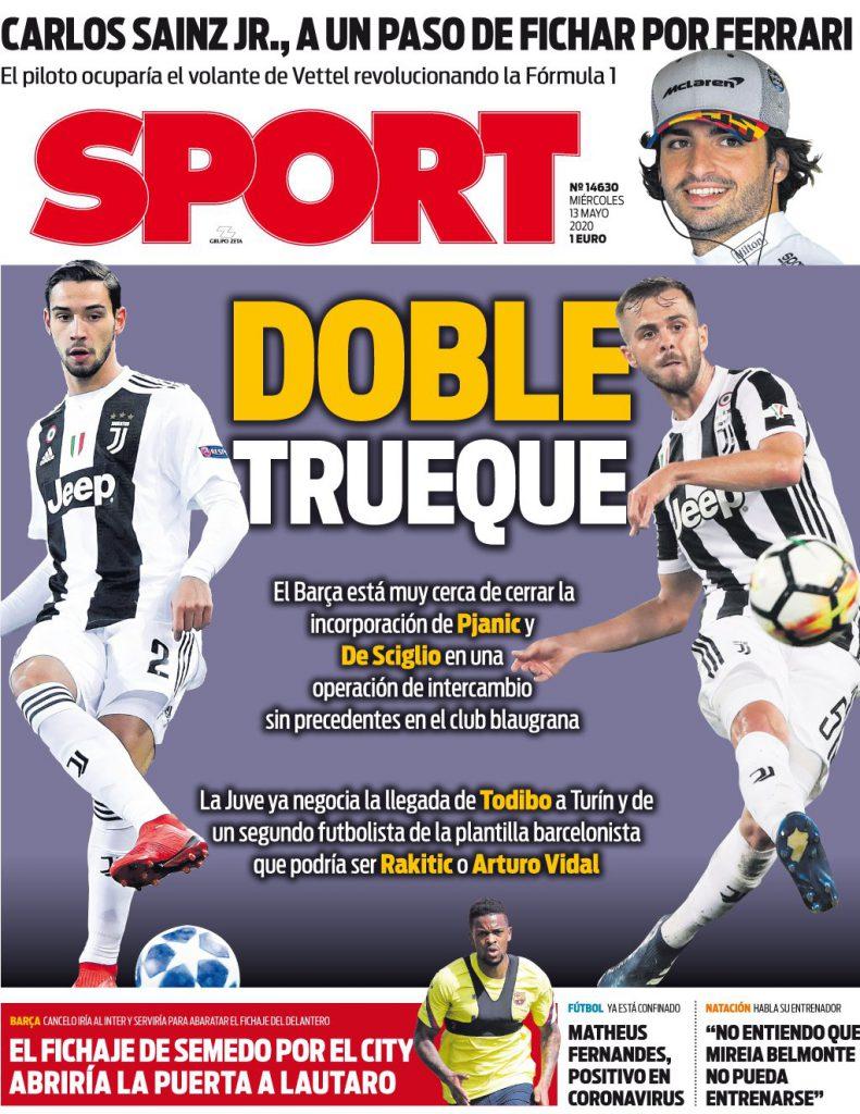Sport 13 maggio