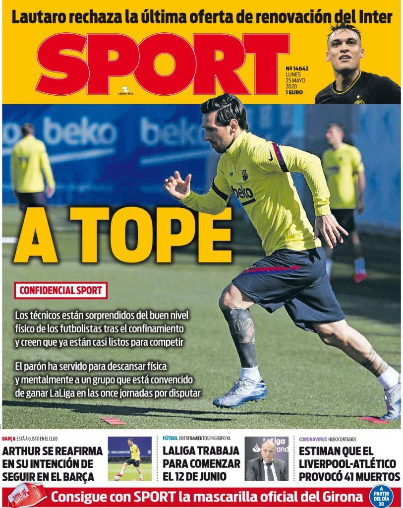Sport 25 maggio