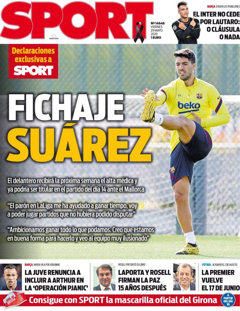Sport 29 maggio