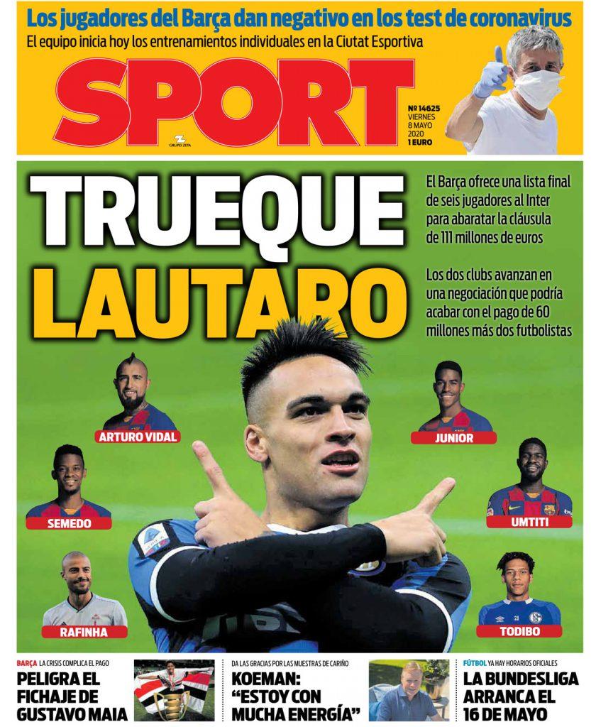 Sport 8 maggio