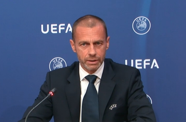 Aleksander Ceferin presidente UEFA