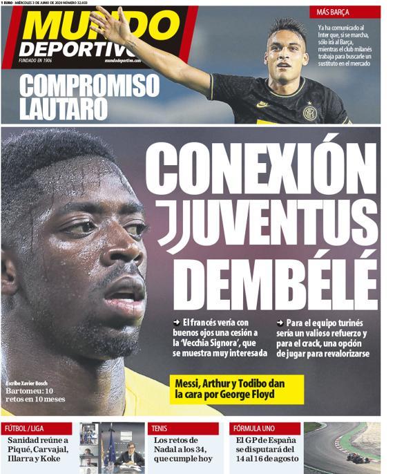 Mundo Deportivo 3 giugno