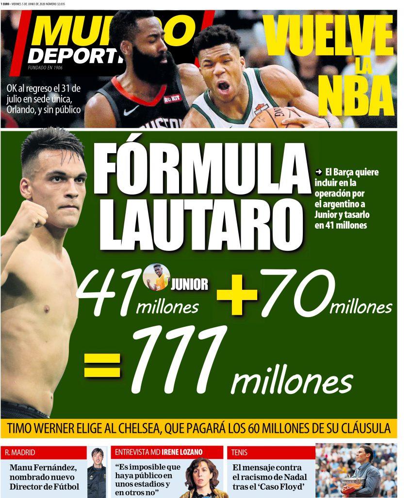 Mundo Deportivo 5 giugno