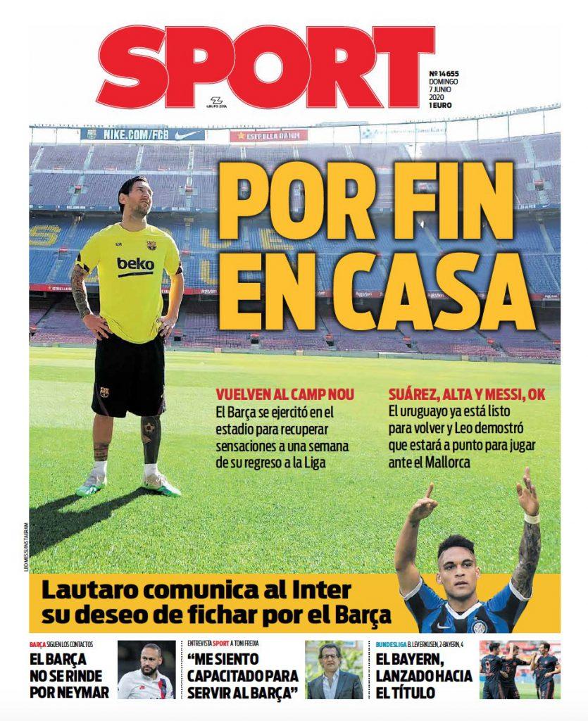 Sport 7 giugno