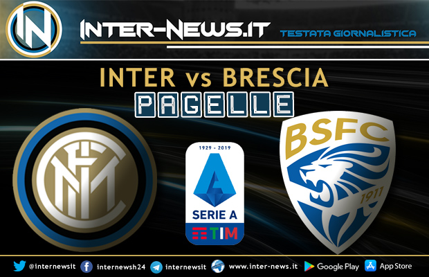 Inter-Brescia-Pagelle
