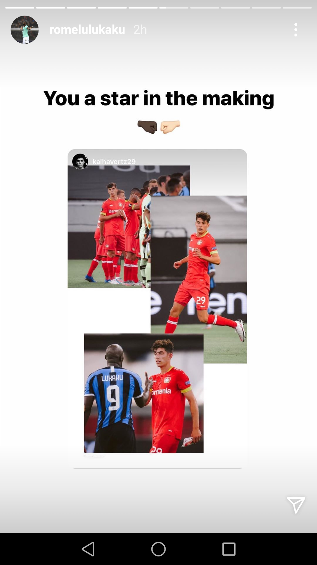 Lukaku Instagram