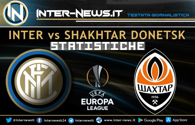 Inter-Shakhtar-Donetsk-Statistiche