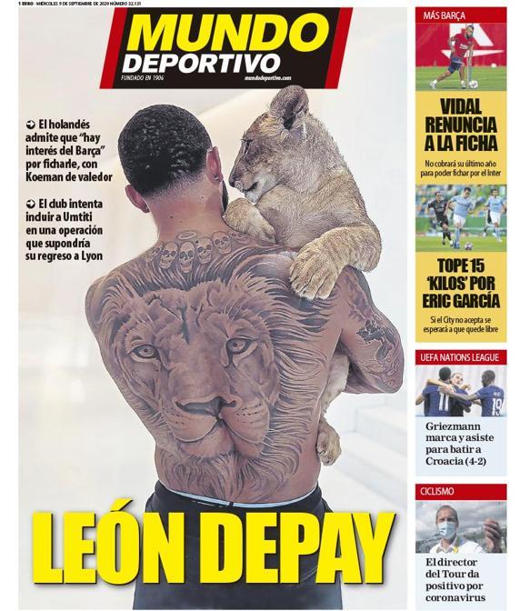 Mundo Deportivo 9 settembre