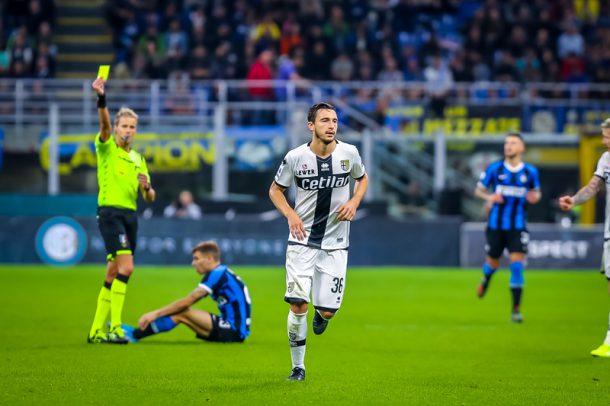 Matteo Darmian Inter-Parma