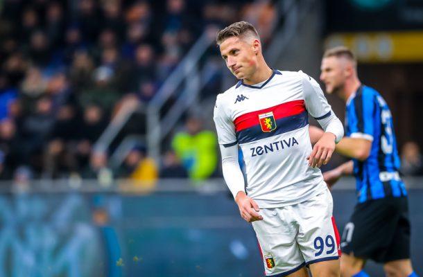 Andrea Pinamonti Inter-Genoa