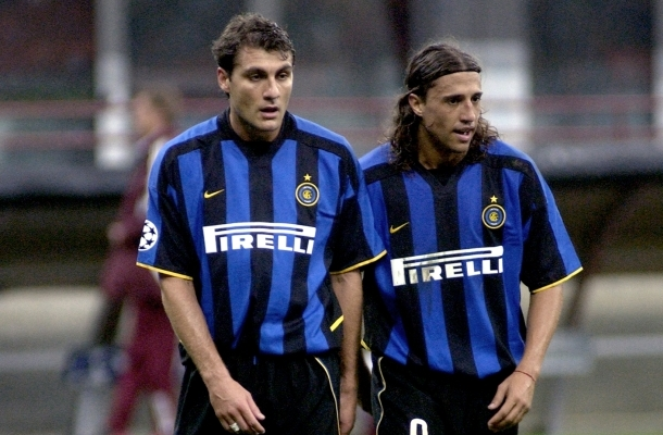 Crespo Vieri Inter-Ajax